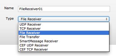 ArcSight Logger File Receiver Configuration